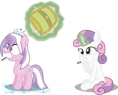 diamond tiara Fan Art Sweetie Belle ice bucket challenge - 8299889408