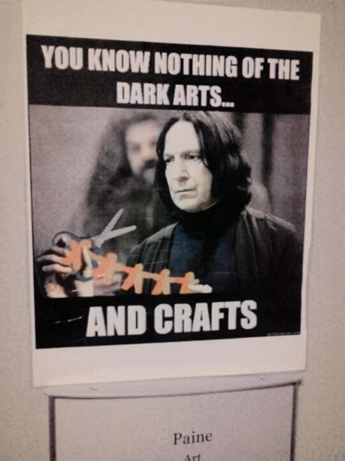 Harry Potter art class funny - 8299897344