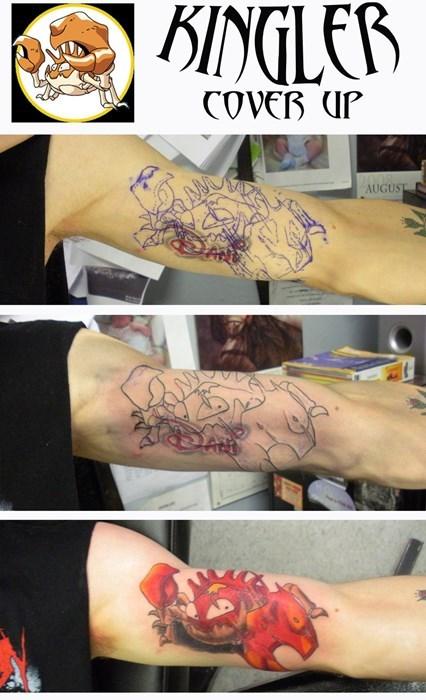 Pokémon tattoos regret kingler - 8299904768