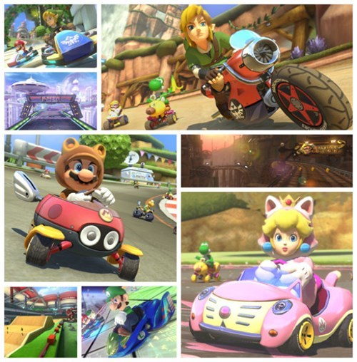 link awesome mario kart 8 DLC f-zero video games zelda Video Game Coverage - 8299935744