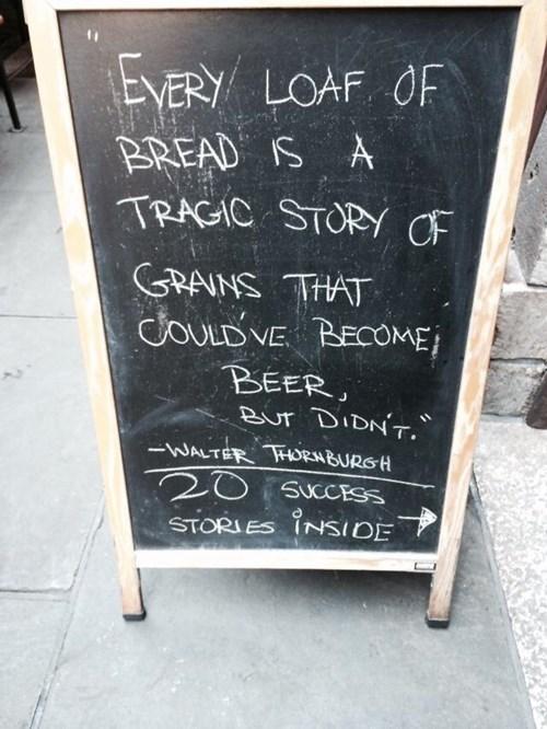 beer sign pub funny grain