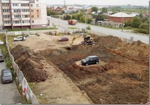 construction cars parking - 8300020992