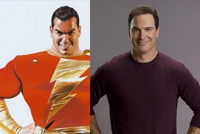 shazam,patrick warburton,the tick