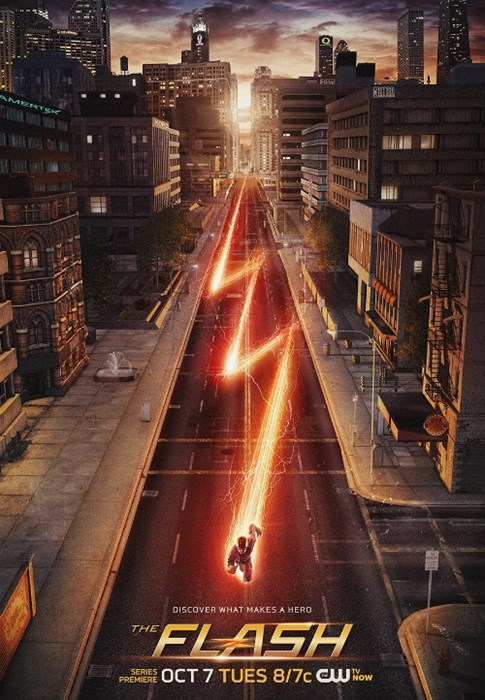 poster,the cw,the flash
