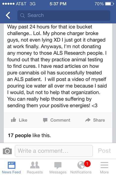 marijuana,stoners,ice bucket challenge