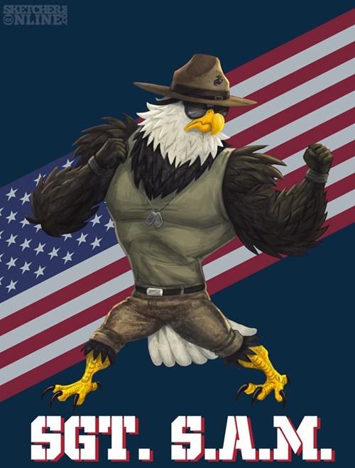 sergeant sam mascots - 8300323840