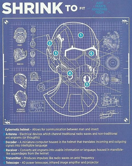 ant man infographic - 8300797440
