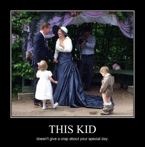 wtf kids pee wedding funny - 8300848896