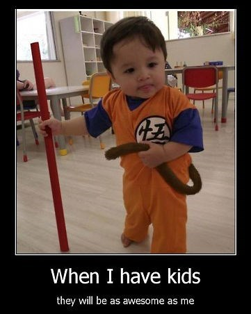 kids Dragon Ball Z funny parents