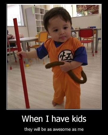 kids Dragon Ball Z funny parents - 8300849152
