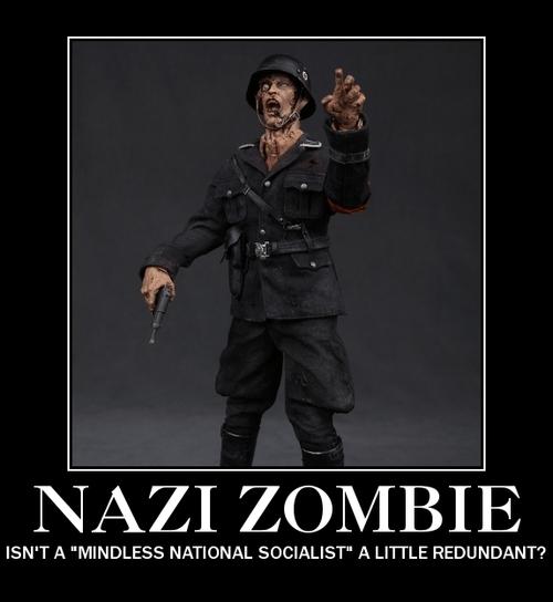 wtf zombie nazi funny - 8300850432