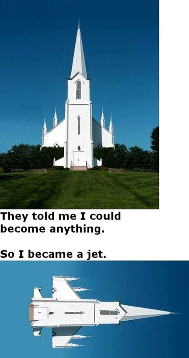churches,jets
