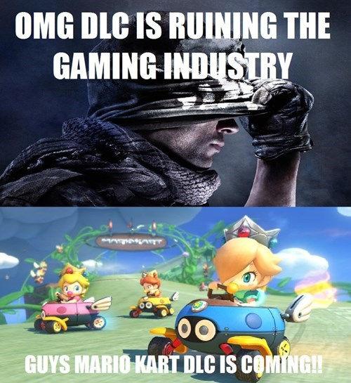 call of duty,mario kart 8,DLC,nintendo