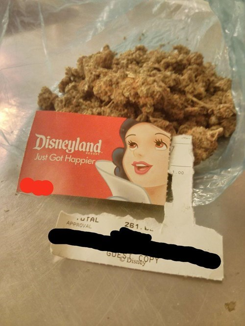 drugs weed funny disneyland - 8300949504