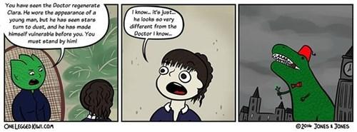clara oswin oswald regeneration dinosaurs web comics - 8300967168