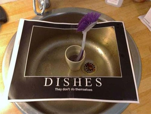 roommates,dishes