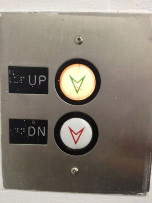 monday thru friday,button,elevator