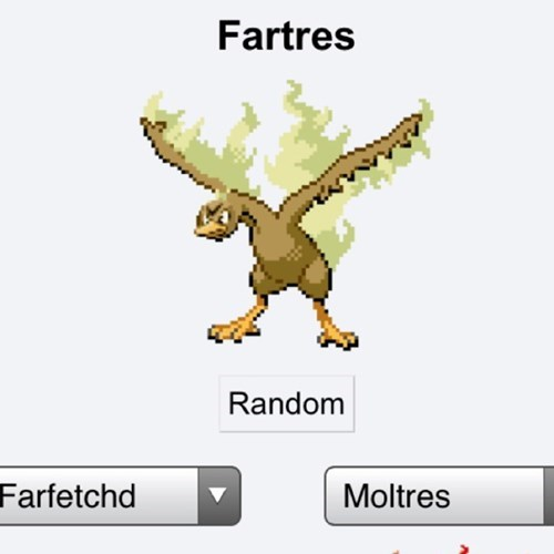 pokemon fusion,farts,max repel,moltres