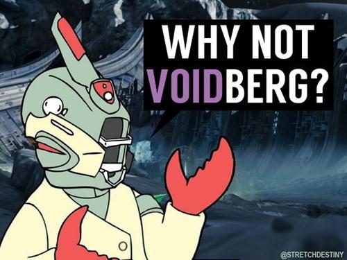 destiny futurama Zoidberg void - 8301279232