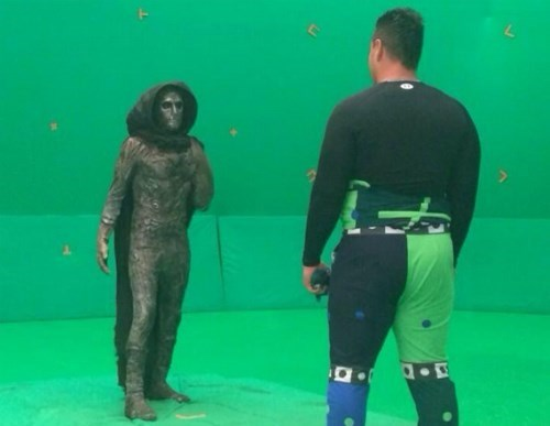 behind the scenes doctor doom Fantastic Four - 8301722880