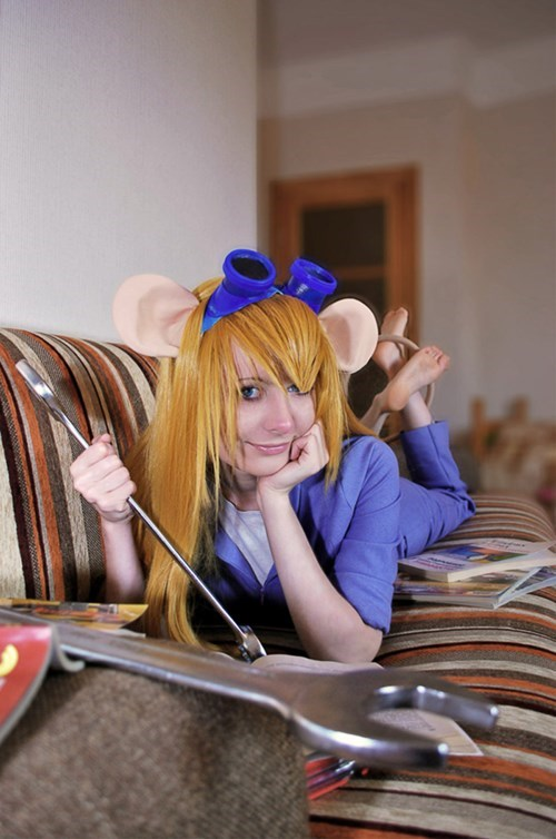 chip and dale's rescue ranger,cosplay,ladies,gadget