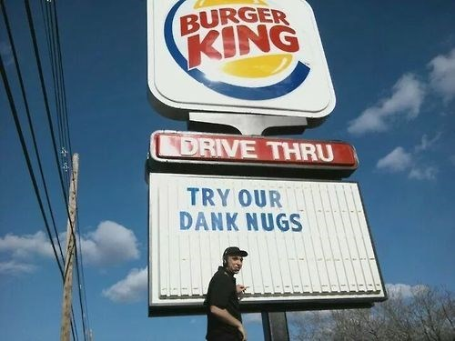 marijuana 420 pot burger king weed - 8301863168