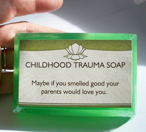 childhood trauma soap soap - 8301937408