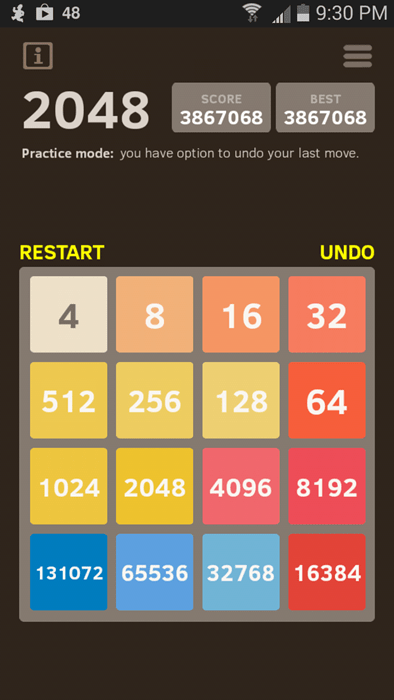 2048 perfection video games - 8301970432