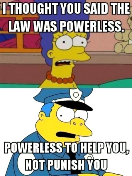 marge simpson,chief wiggum,the simpsons,police