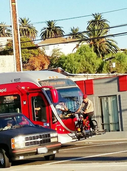 monday thru friday commute bike rack bike bus