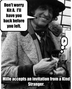Shyster Millie goes on an Unexpected Journey.