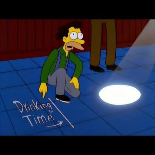 beer sundial the simpsons funny - 8302137600