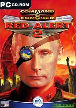 command and conquer,Vladimir Putin,red alert 2