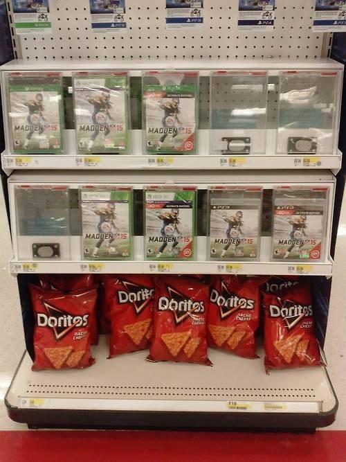 doritos,madden,stores,Target