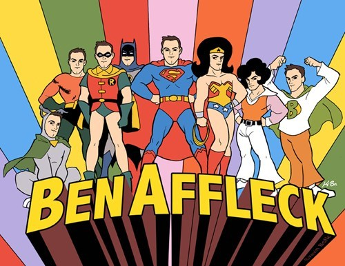 justice league Fan Art batfleck - 8303031552