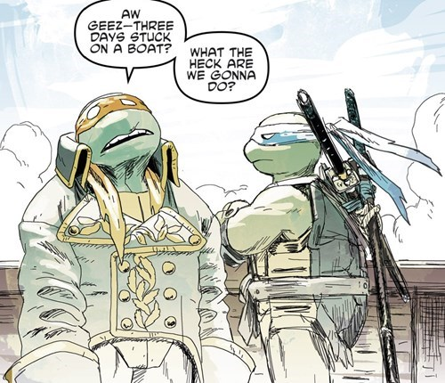 pirates Straight off the Page TMNT - 8303032576