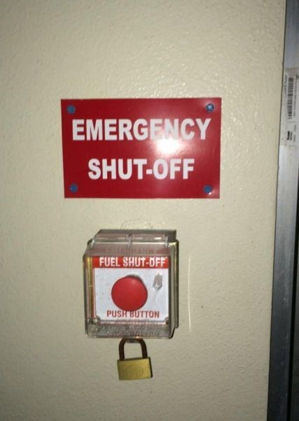 button emergency monday thru friday lock - 8303075072