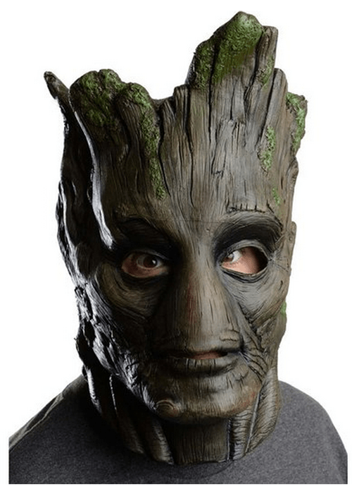 costume mask guardians of the galaxy poorly dressed groot g rated - 8303078656