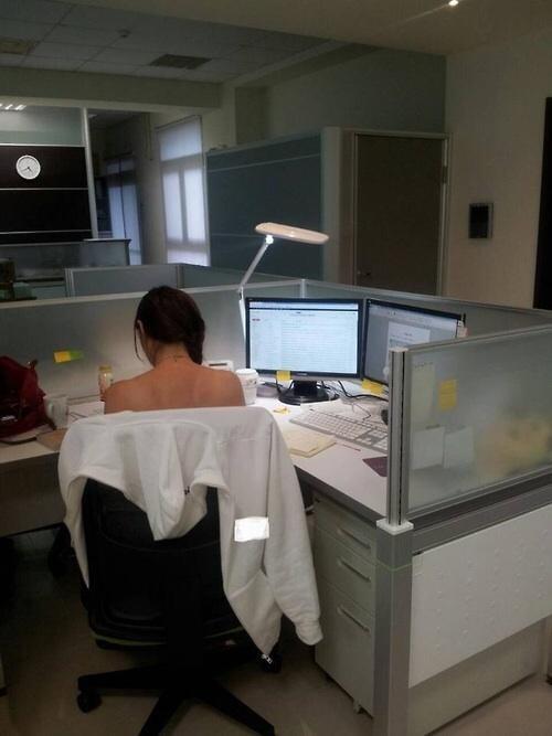 monday thru friday poorly dressed cubicle