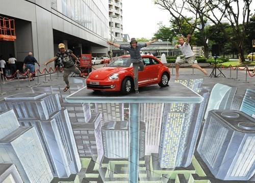 chalk art hacked irl perspective - 8303366912