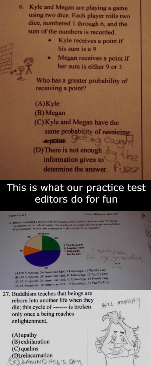 school,doodle,test