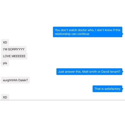 Exterminating relationship