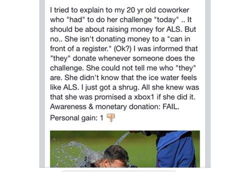 facepalm kids these days ice bucket challenge - 8304255744