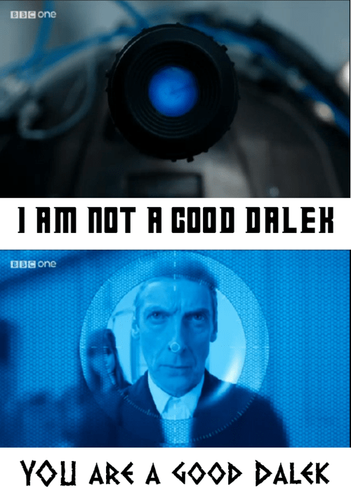 12th Doctor,dalek