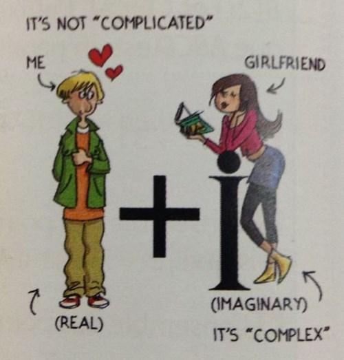 funny math love textbook