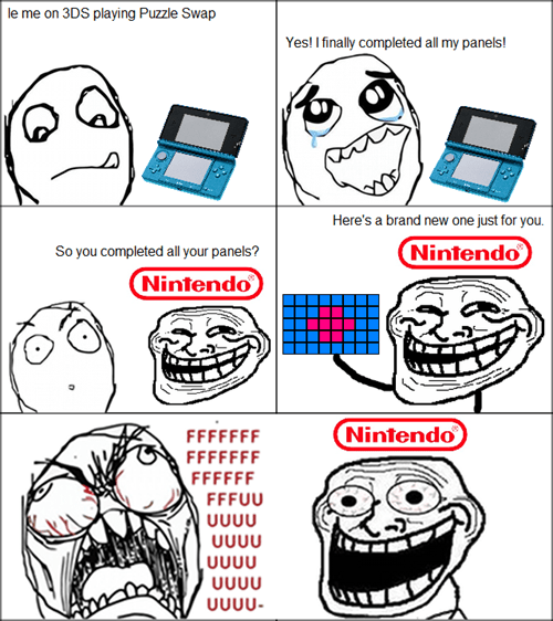 nintendo,video games,trollface,rage