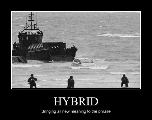 HYBRID Bringing all new meaning to the phrase