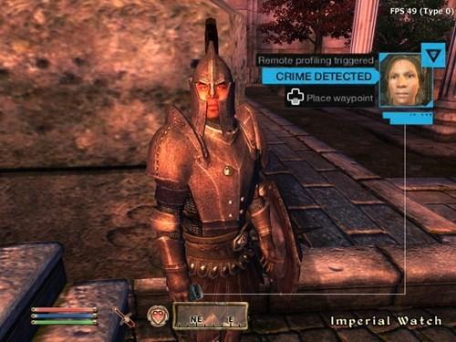 video games the elder scrolls watch dogs oblivion - 8305103616