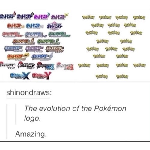evolution logos Pokémon - 8305115904