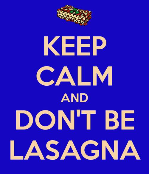 12th Doctor lasagna keep calm and - 8305296384